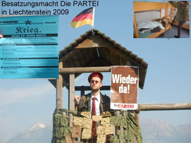 Krieg in Liechtenstein
